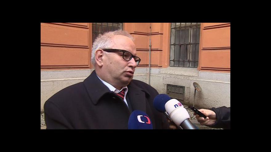 Video Reakce Vladimíra Krejčíře na rozsudek