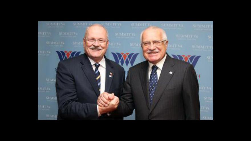 Video Poslední zahraniční cesta Václava Klause
