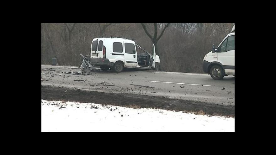 Video NO COMMENT: Střet auta a kamionu ve Zlíně-Přítlukách