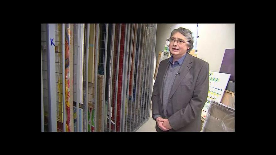 Video O počátcích sbírky hovoří sběratel a umělecký ředitel Richard Adam