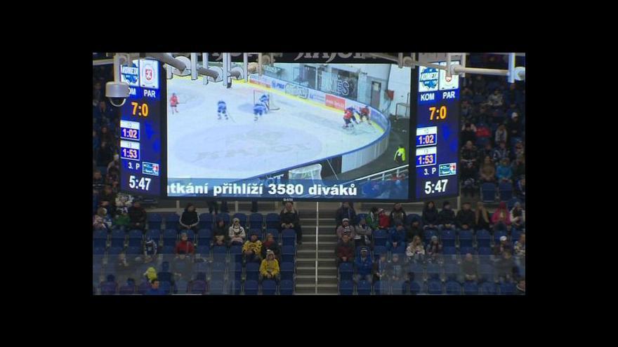 Video No comment: atmosféra na utkání Kometa Pardubice