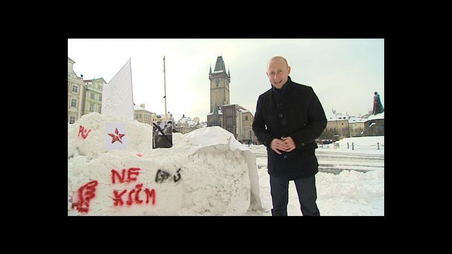 Video Vstup a reportáž Martina Ruska
