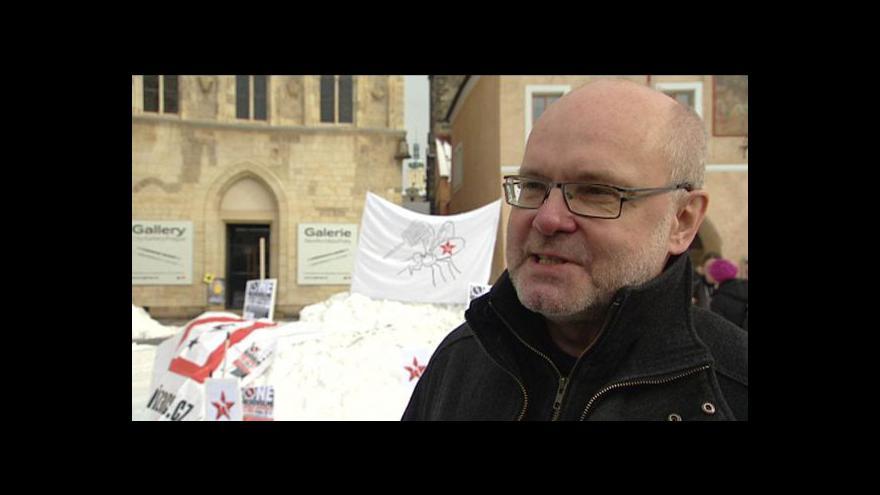 Video Rozhovor s Petrem Markem z iniciativy Bez komunistů