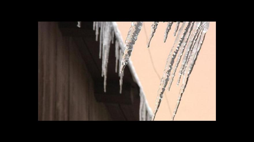 Video Česko si užilo poslední zasněžený víkend