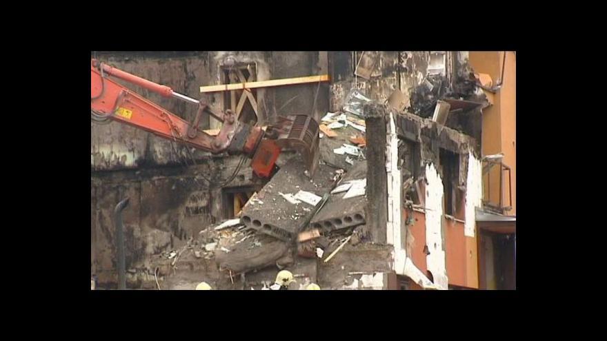Video Ve Frenštátě začala demolice domu