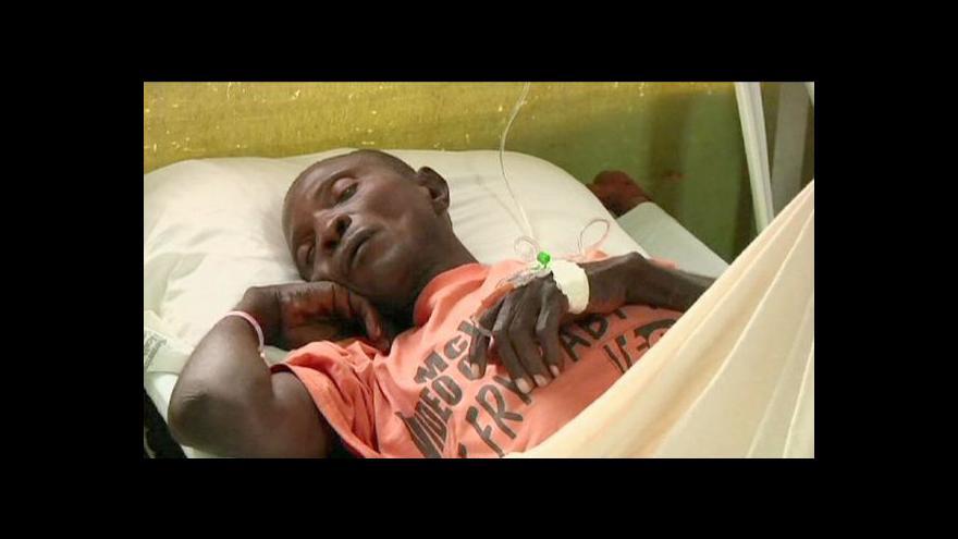 Video OSN neodškodní oběti cholery na Haiti