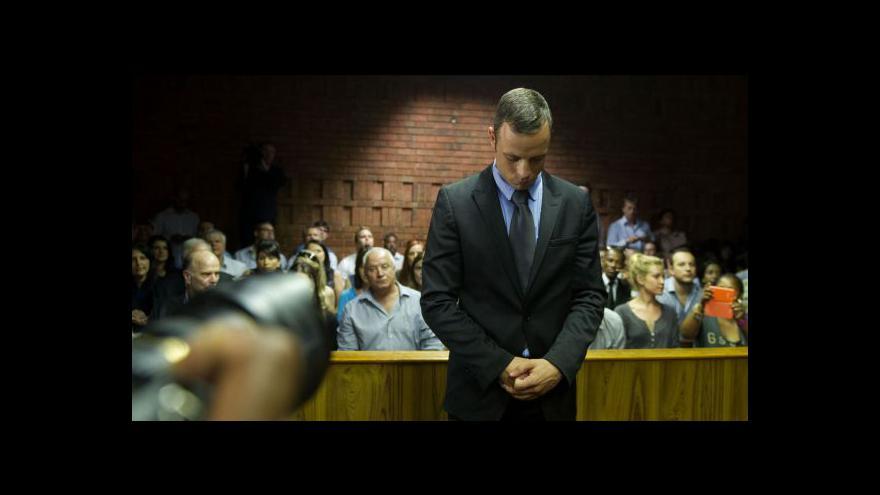 Video Pistorius byl propuštěn na kauci