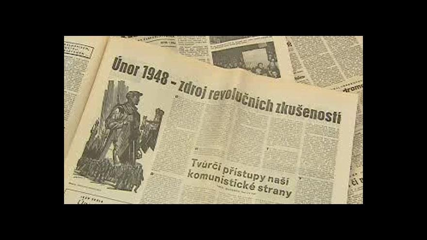Video Reportáž o únoru 1948