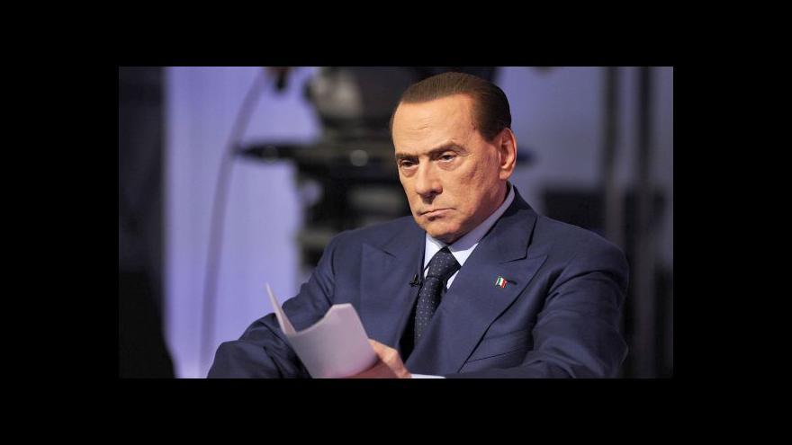 Video Italové jdou k předčasným parlamentním volbám