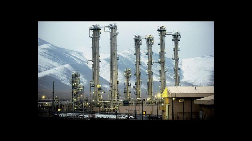 Video Írán vylepšuje svůj jaderný komplex