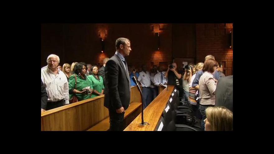 Video Soud rozhoduje o proputění Pistoria