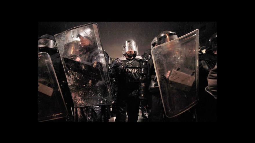 Video Protesty v Bulharsku neutichají