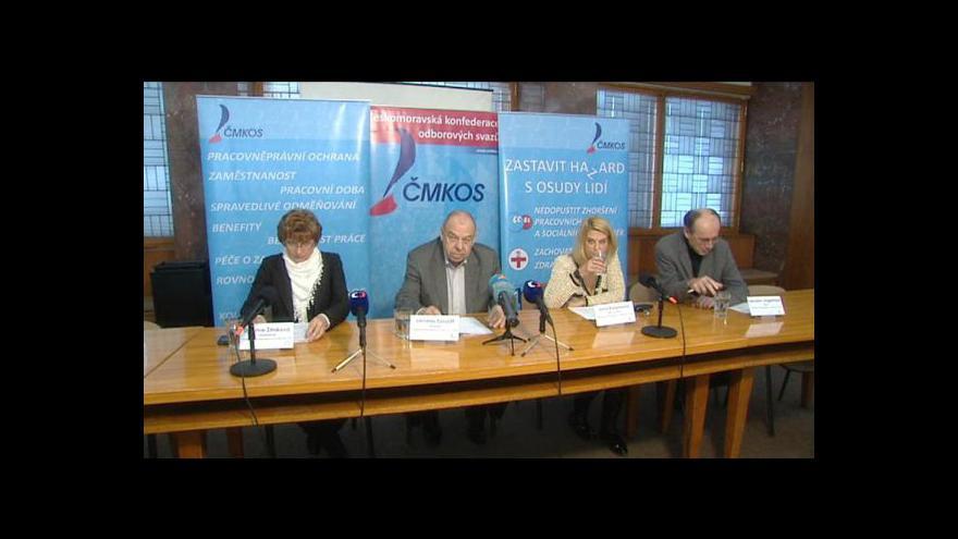 Video Brífink ČMKOS k situaci ve zdravotnictví