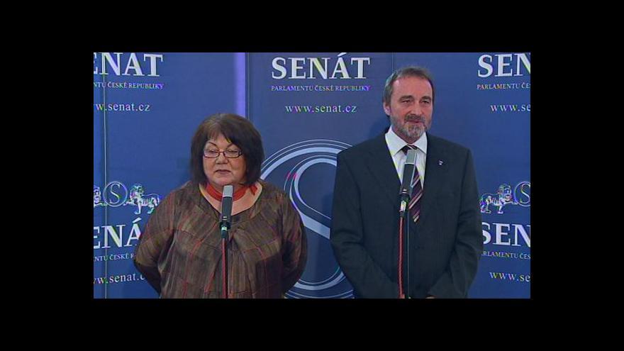 Video Brífink k veřejnému slyšení v Senátu o Klausově amnestii