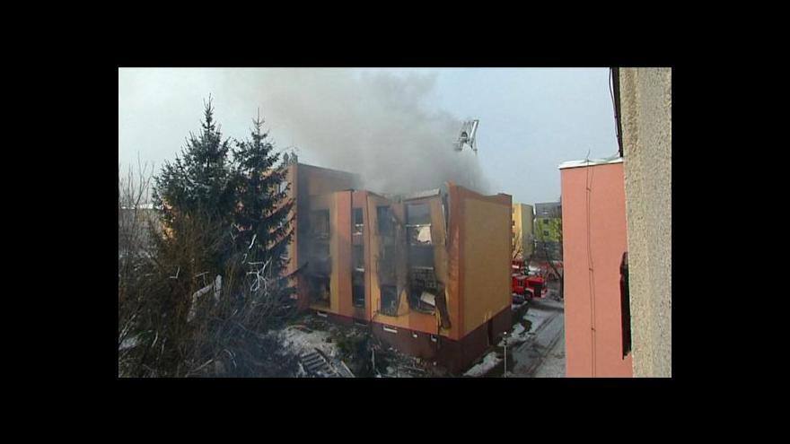 Video Za výbuch ve Frenštátě může nejspíš problémový nájemník