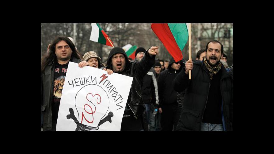 Video Bulharská vláda podala demisi