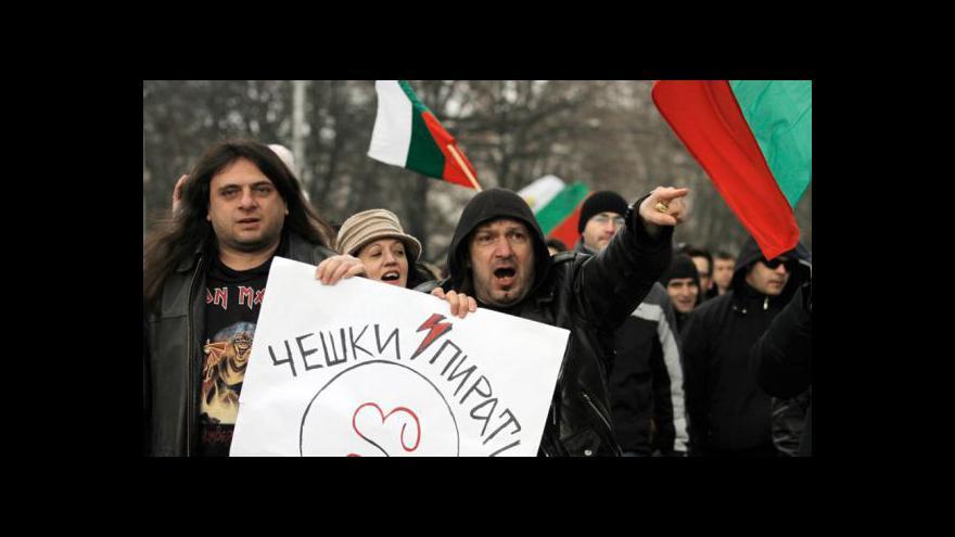 Video Bulharská vláda končí