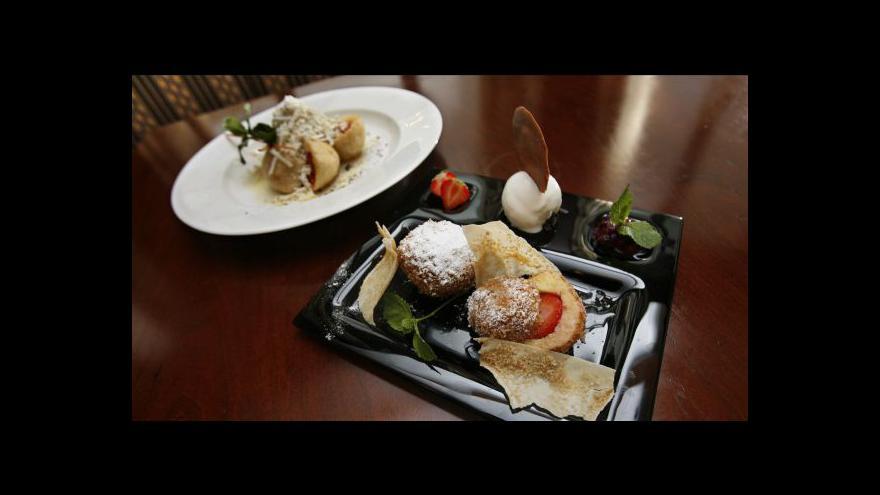 Video Luxusní restaurace