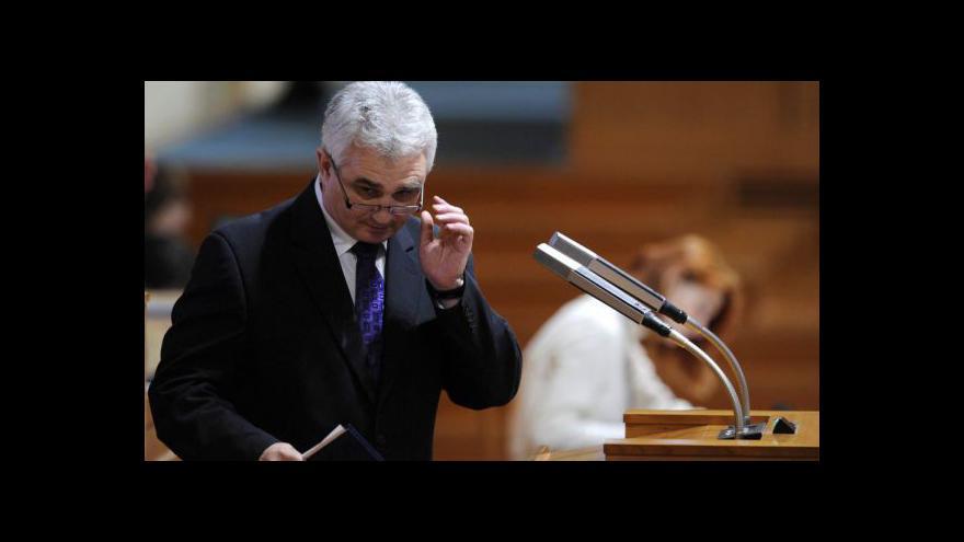 Video Zeman jednal s předsedou Senátu