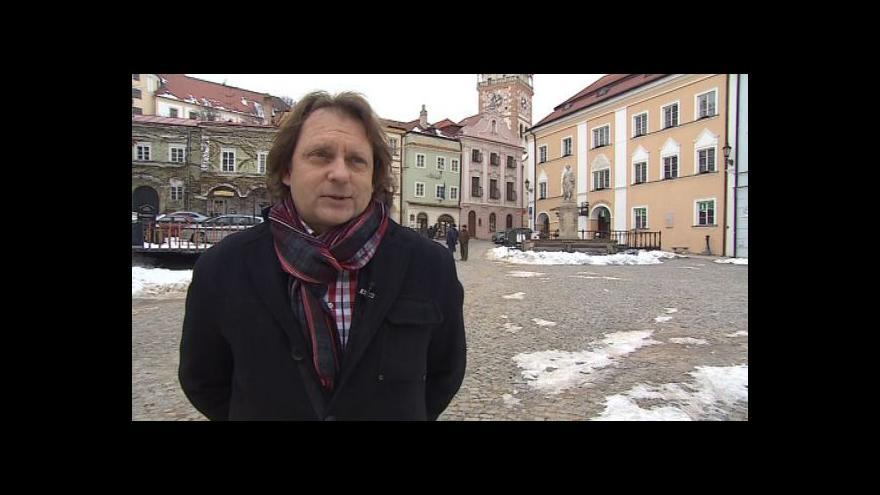 Video Starosta Mikulova Rostislav Koštial o příspěvku na opravu fasád