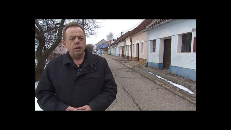 Video Starosta Bořetic Václav Surman o příspěvku na opravu fasád