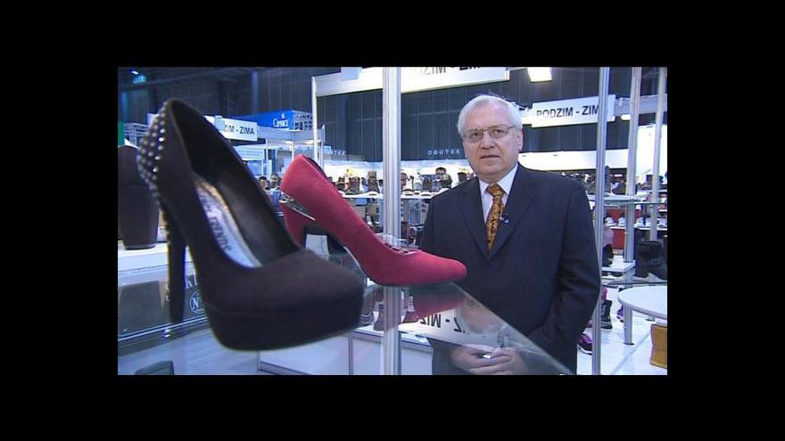 Video Hovoří viceprezident Asociace obuvníků Petr Hlaváček