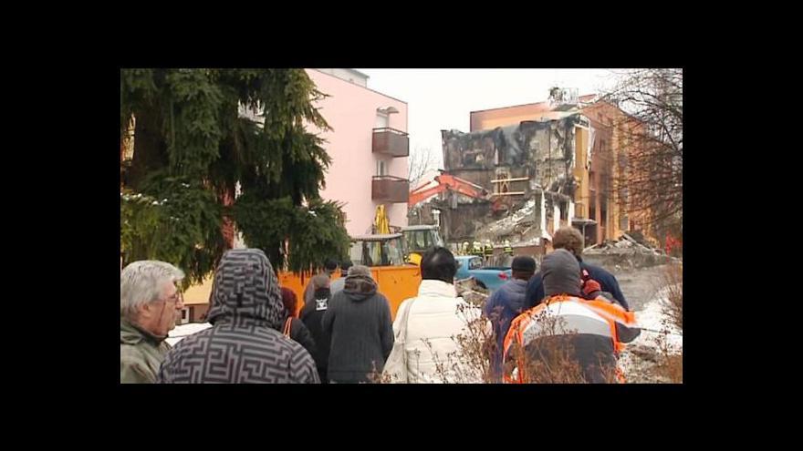 Video Frenštát den po výbuchu