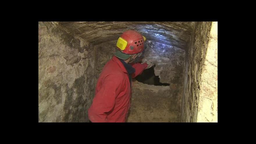 Video NO COMMENT: Práce ve sklepě u jeskyně Na Turoldu