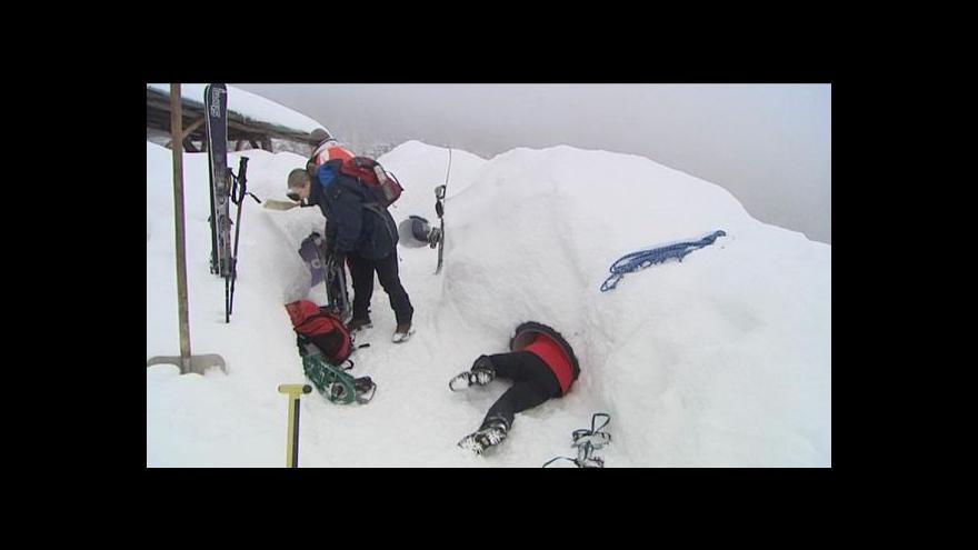 Video Zimní hory nejsou jen sjezdovky