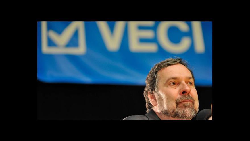 Video Proslov Radka Johna na volební konferenci VV