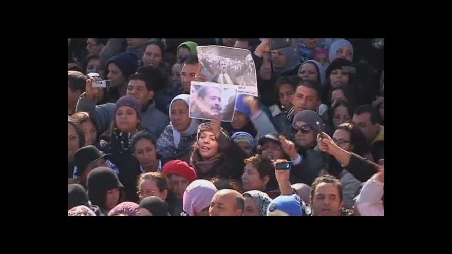 Video V Tunisku to vře