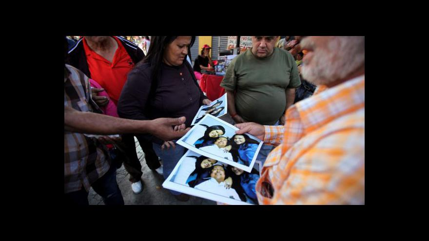 Video Chávezovy nové fotografie z nemocnice