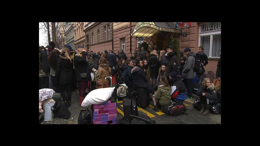 Video Noční Praha a alkohol - ráj pro Seveřany