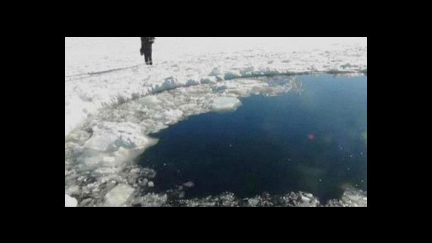 Video Rusko vyděsil meteorický roj
