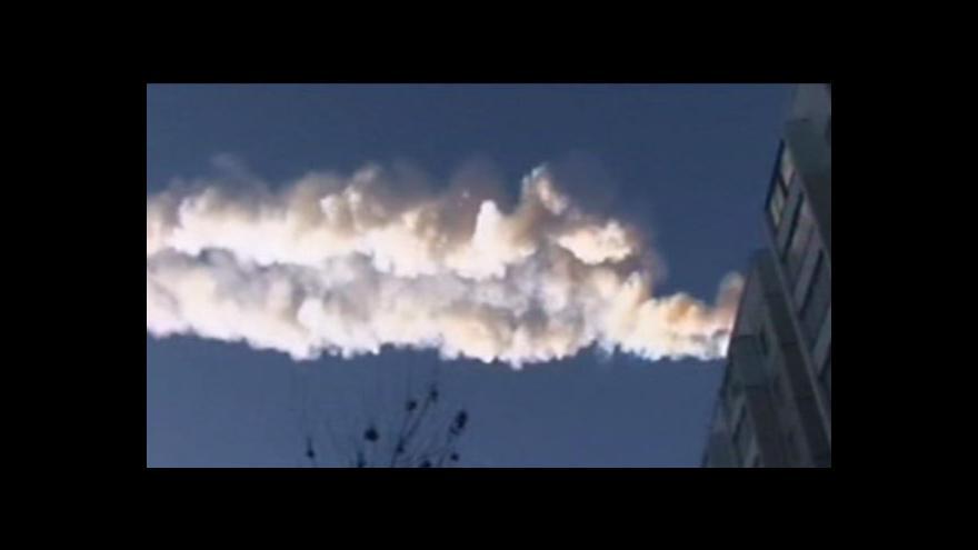 Video Meteorický roj vystrašil Čeljabinsk