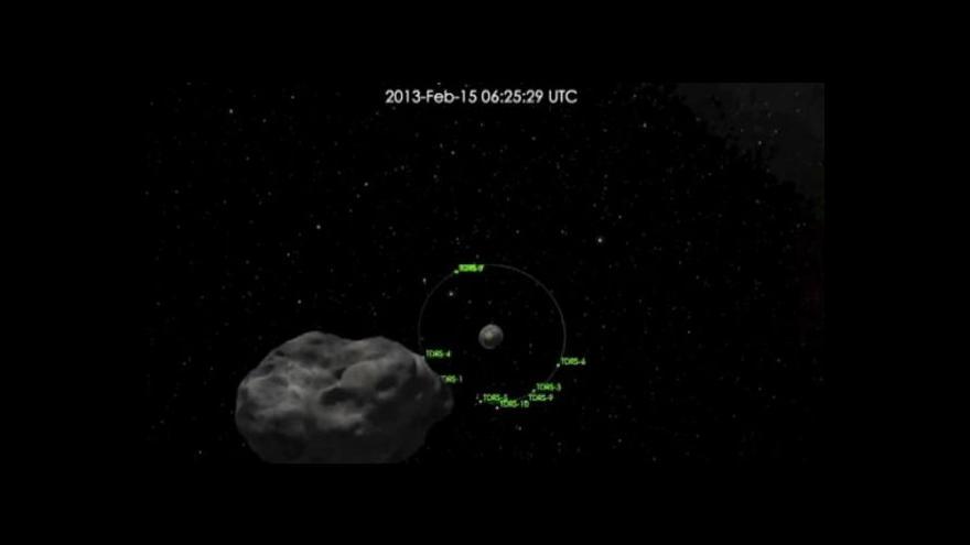 Video Naši planetu Zemi mine planetka