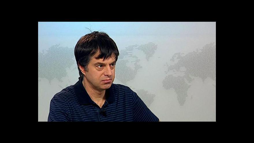 Video Publicista Teodor Marjanovič o íránském jaderném programu