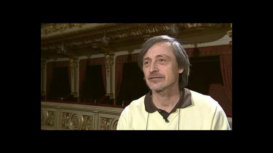 Video O divadelní hře Králova řeč hovoří režisér Martin Stropnický
