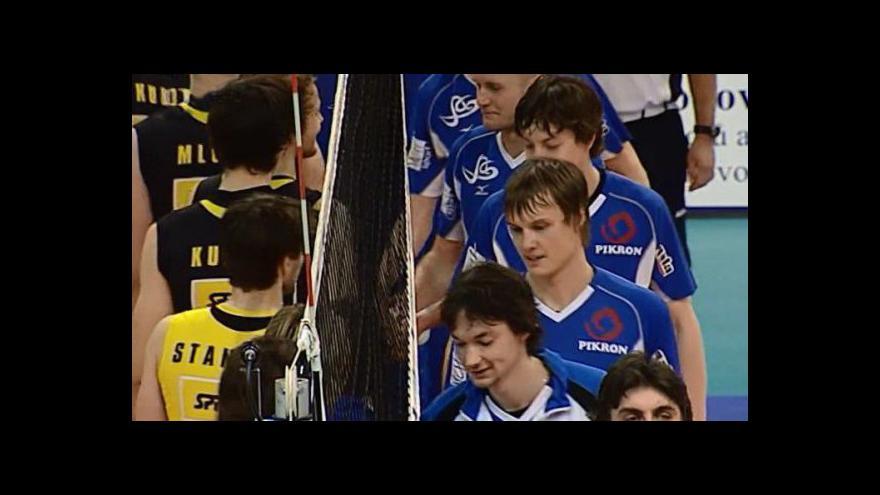 Video Zlín porazil v extralize volejbalistů Brno