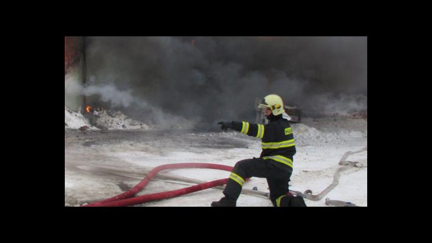 Video Záběry ze zásahu hasičského sboru