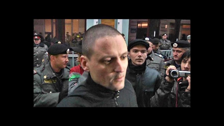Video Dva měsíce domácího vězení pro Sergeje Udalcova