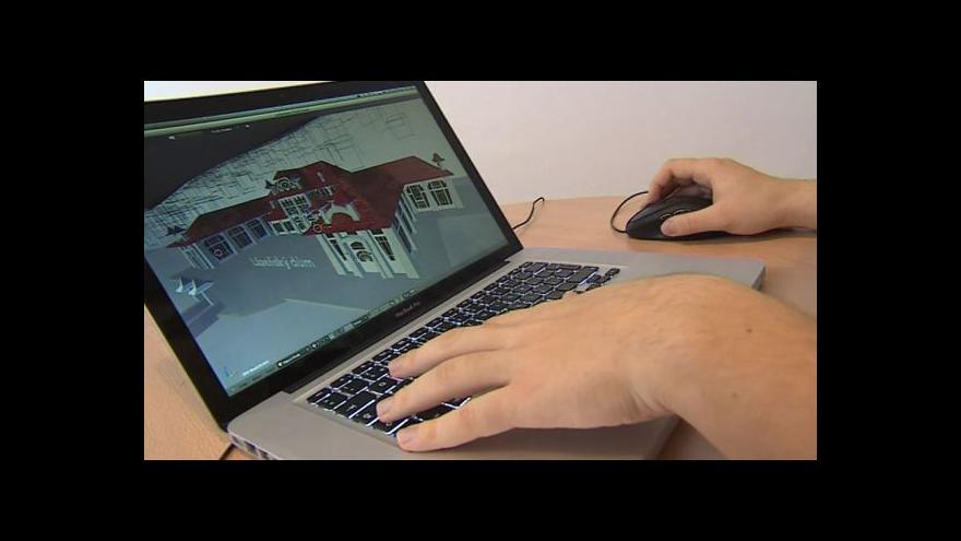 Video Student Kristian Maňas popisuje vznik vizualizace