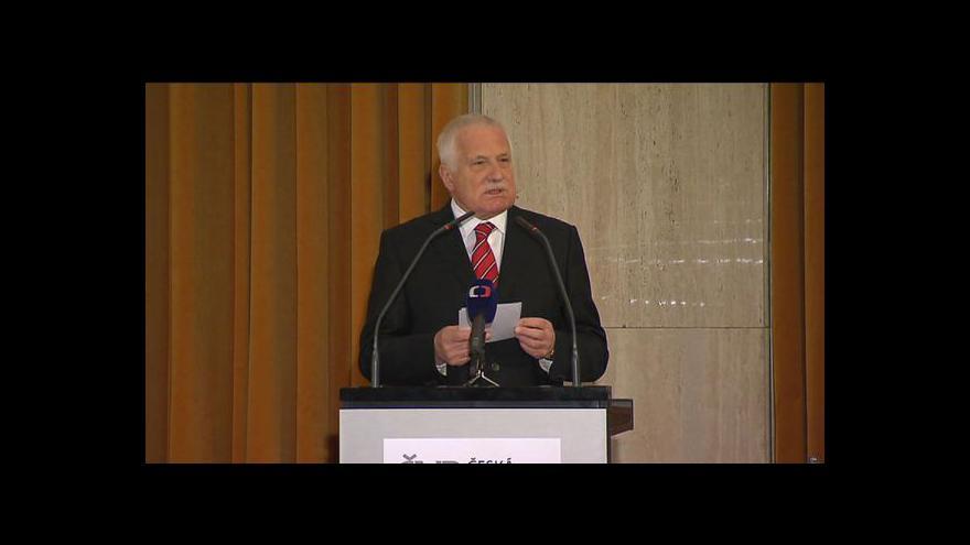 Video Zahájení Konference k 20. výročí české koruny