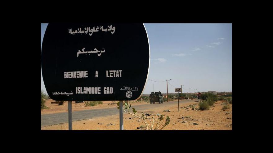 Video Vláda schválila vyslání vojáků do Mali