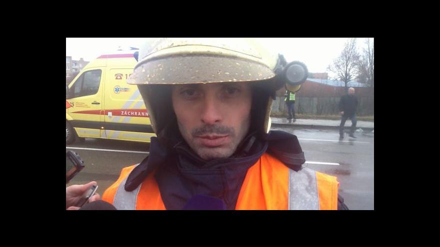 Video Hovoří mluvčí jihomoravských hasičů Jaroslav Mikoška