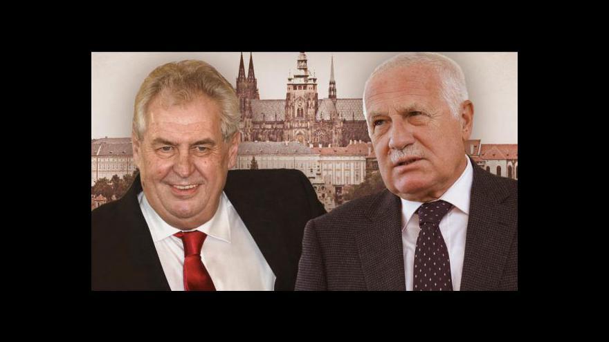 Video Schůzka Klause a Zemana tématem Událostí