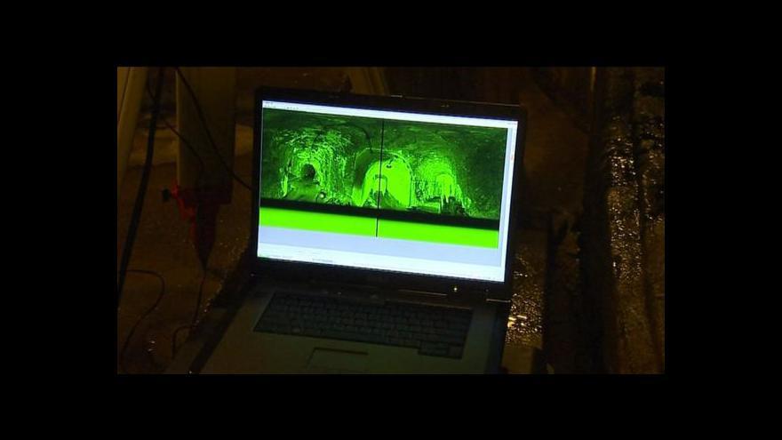 Video ČVUT přijelo zkoumat rozsah katakomb