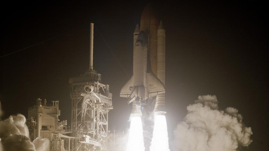 Video Zničení raketoplánu Columbia