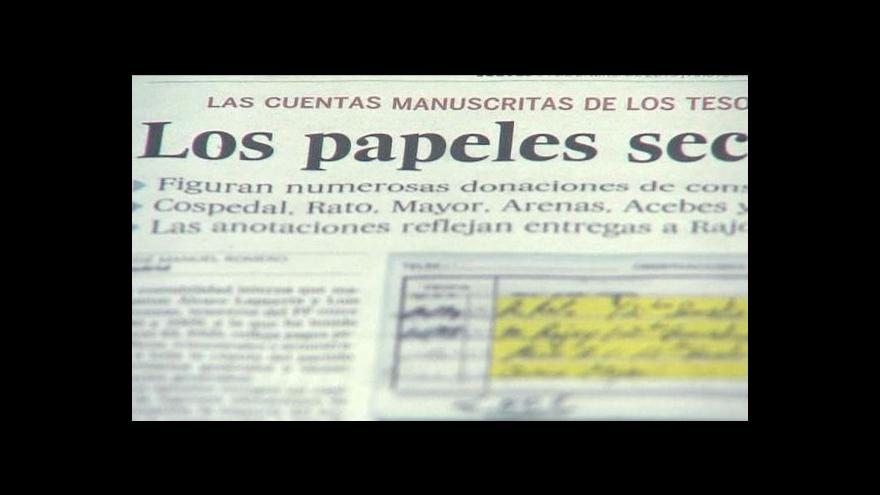 Video Španělská vláda v ohrožení