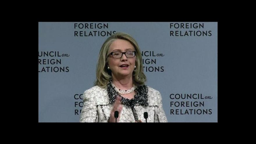 Video Střídání amerického ministra zahraničí